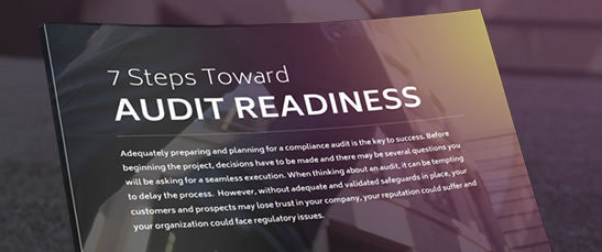 Audit Readiness