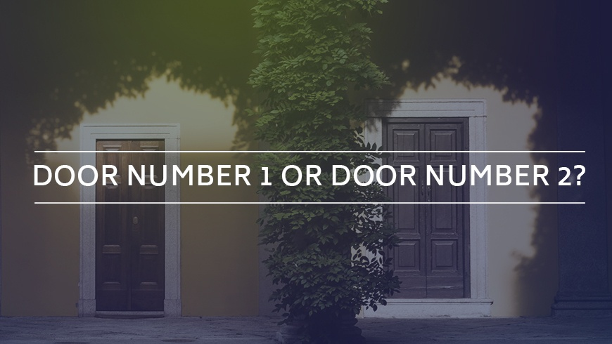 Door Number 1 or Door Number 2? Picking between ISO 27001 or SOC 2