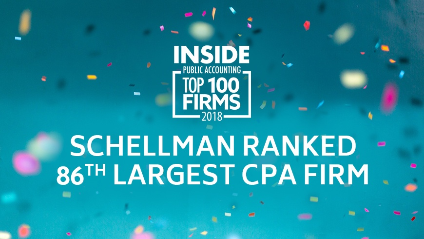 Schellman Recognized as a Top 100 Accounting Firm by INSIDE Public Accounting